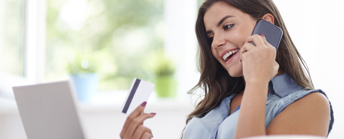 Paying bills with credit cards